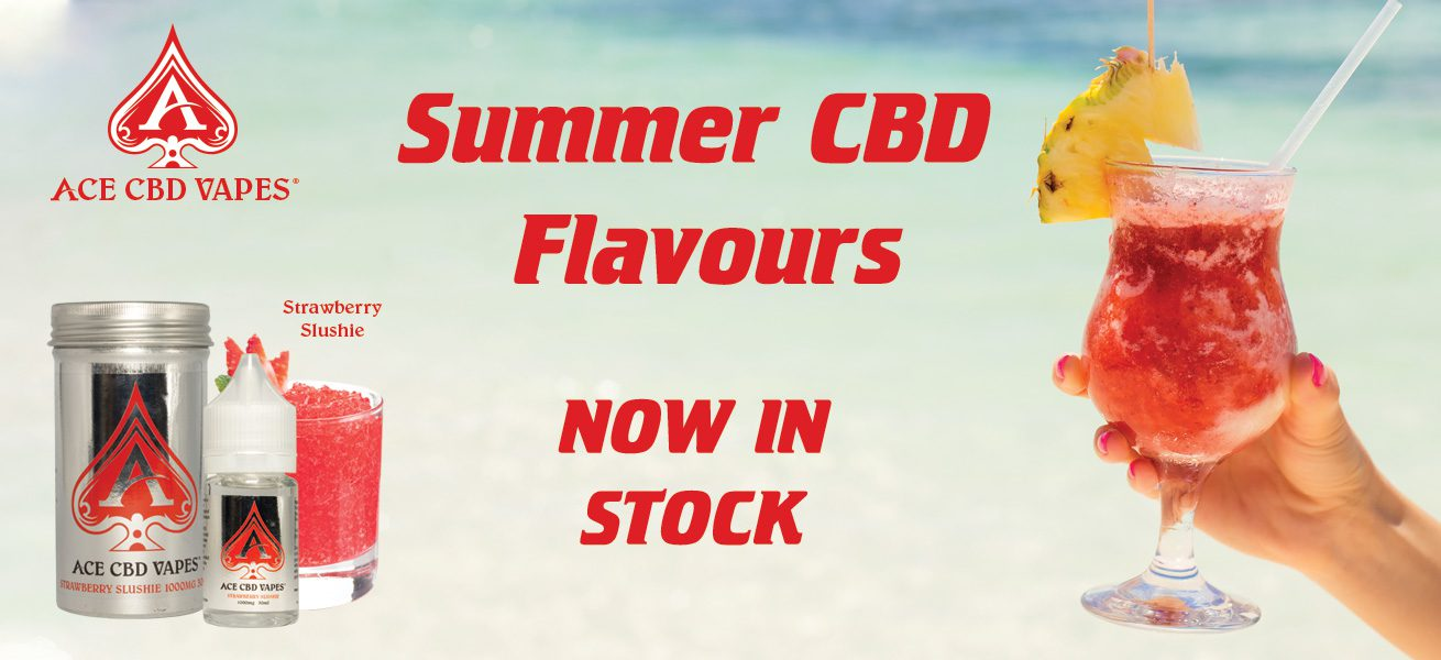 Summer CBD flavours available now